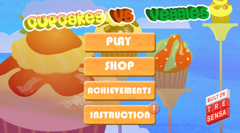 Cupcakes vs Veggies - 1