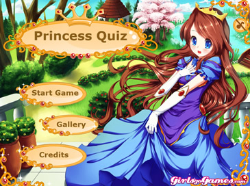 Princess Quiz - 4