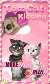 Tom Cat Kissing - 1