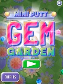 Mini Putt: Gem Garden - 4