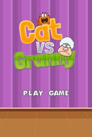 Cat vs Granny - 4