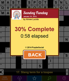 Daily Celebrity Crossword - 3