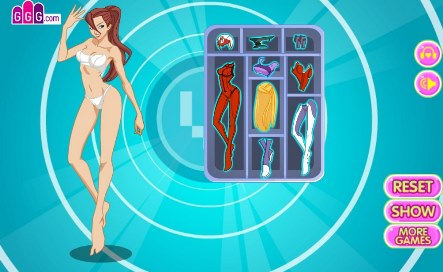 Mecha Girl Dressup - 2
