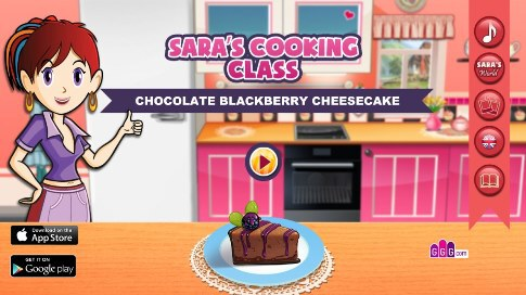 Sara's Cooking Class: Chocolat Blackberry Cheesecake - 39