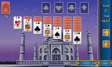 Taj Mahal Solitaire - 56