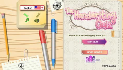 The Handwriting Quiz - 1