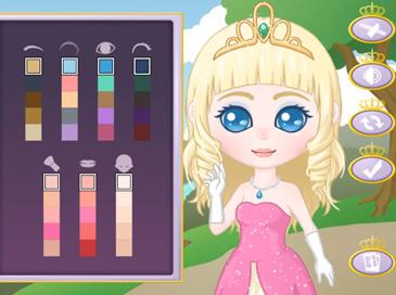 Royal Princess Dress-Up - 1