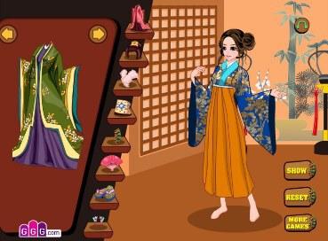 Kimono Cutie Dress Up - 3