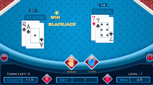 Fun 21 Blackjack - 3