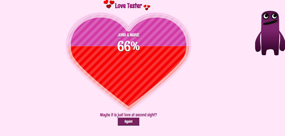 Love Tester - 2