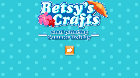 Betsy's Crafts: Summer Holiday Sand Painting - 4