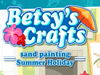 Betsy's Crafts: Summer Holiday Sand Painting - 1
