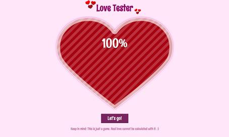 Love Tester - 4