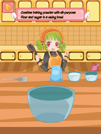 Cooking Super Girls: Cupcakes - 2