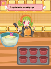 Cooking Super Girls: Cupcakes - 3