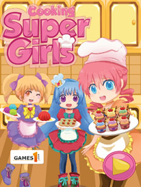 Cooking Super Girls: Cupcakes - 4