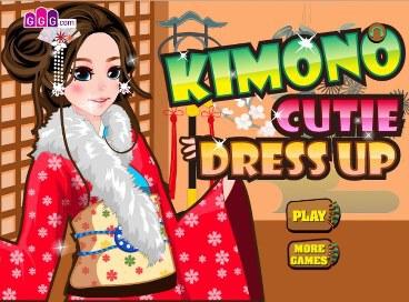 Kimono Cutie Dress Up - 1