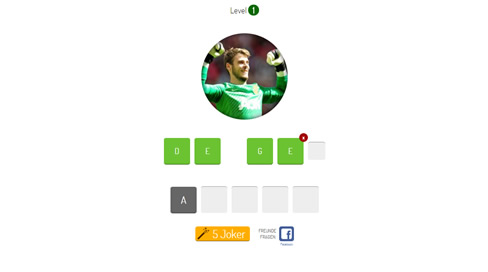 Football Players Quiz - 2