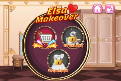 Elsa Makeover - 2
