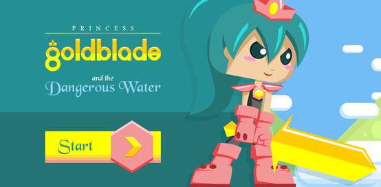 Princess Goldblade and the Dangerous Water - 4