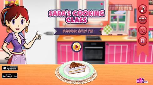 Sara's Cooking Class: Banana Split Pie - 4