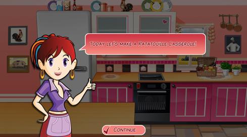 Sara's Cooking Class: Ratatouille Casserole - 1