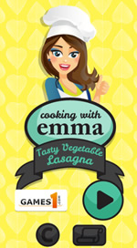 Vegetable Lasagna - Cooking with Emma - 4