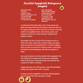 Zucchini Spaghetti Bolognese - Cooking with Emma - 3