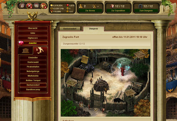 online gladiator games multiplayer