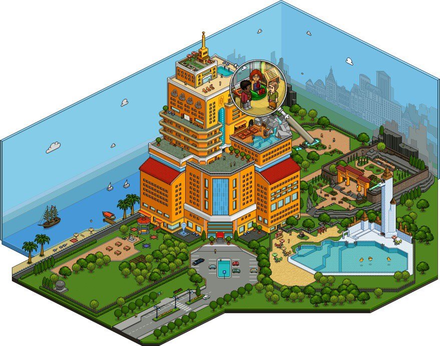 games habbo hotel