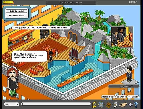 Hôtel Habbo - Jeu en Ligne Multiplayer (MMO) Gratuit