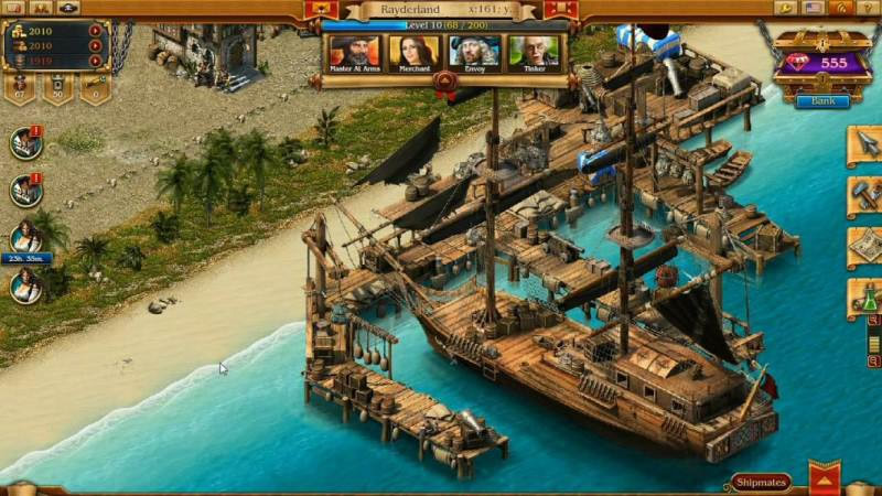 online games pirates