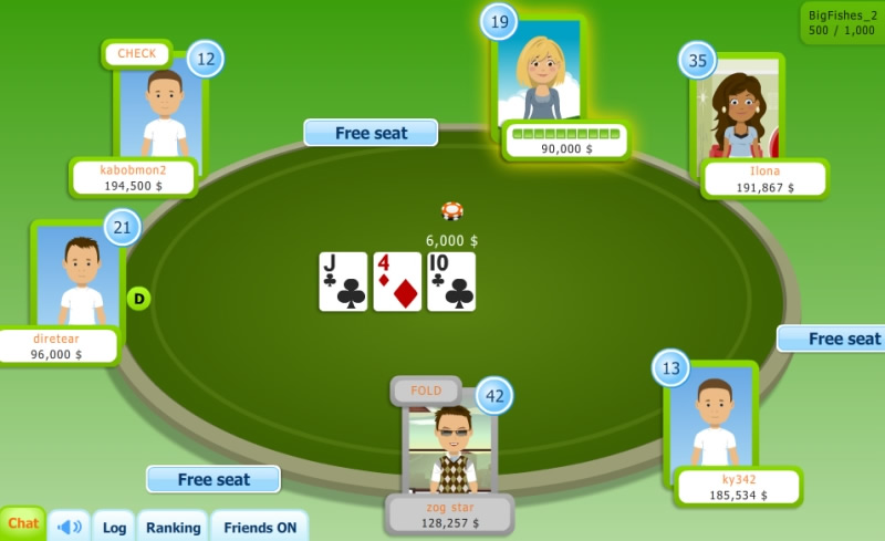 poker online game multiplayer