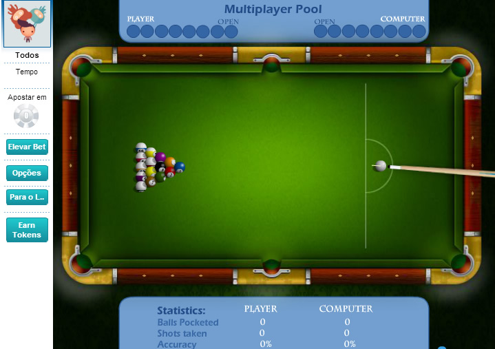 Billiards 8 ball online multiplayer game mmo free