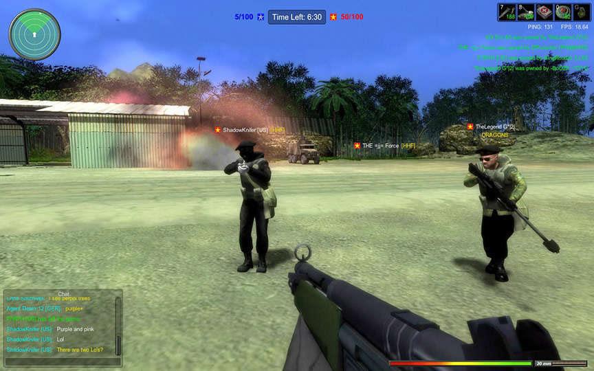 Shooting and War - 9
