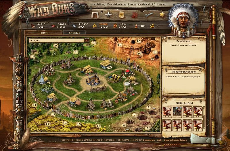 wild west online game
