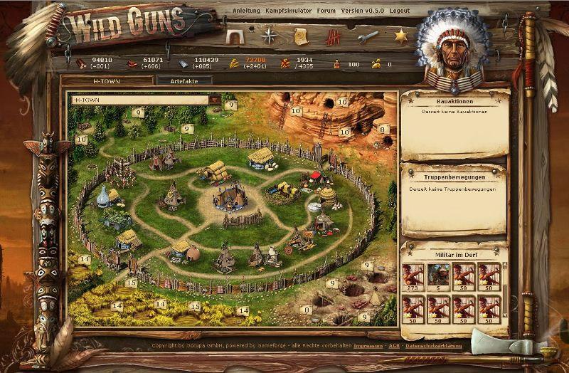 3d wild west games online