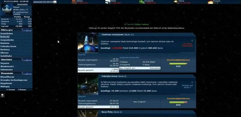 online spiele weltraum