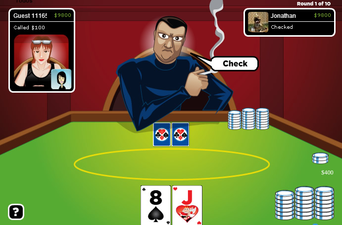 Juego de poker en online