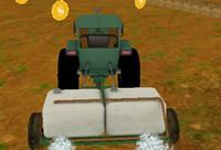 Tractor Farm Parking