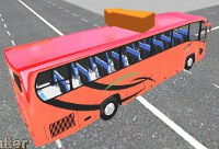 City Bus Parking 3D