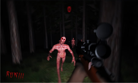 Dark Horror Forest 3D Dead Army PRO Zombie Sniper - 3