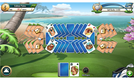 Fairway Solitaire - 48