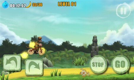 Bike Monkeys: Race for Bananas - 2
