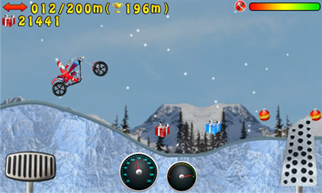Santa Hill Climb Jumping - 3