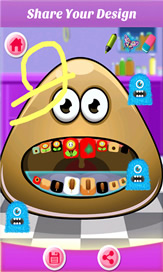 Baby Pou At Dentist - 3