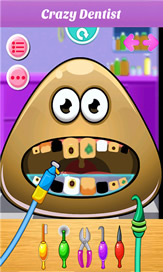 Baby Pou At Dentist - 1