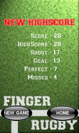 Finger Rugby - 2