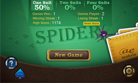 Spider Solitaire - 46