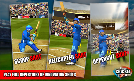 Cricket Play 3D - 2